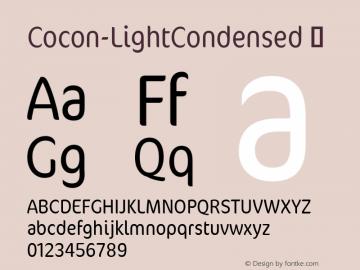Cocon-LightCondensed