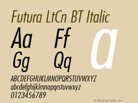 Futura LtCn BT