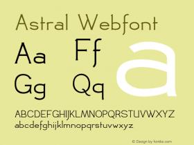 Astral Webfont