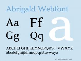 Abrigald Webfont