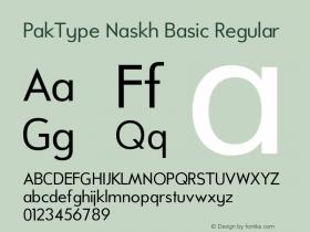 PakType Naskh Basic