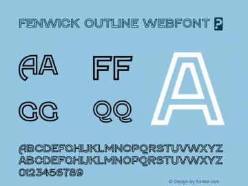 Fenwick Outline Webfont