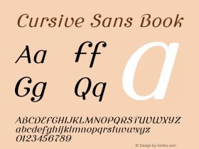 Cursive Sans