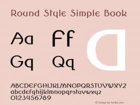 Round Style Simple