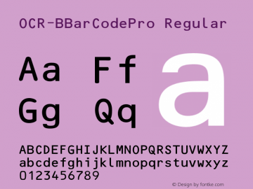 OCR-BBarCodePro