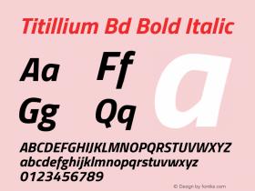 Titillium Bd