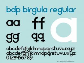 BDP Birgula