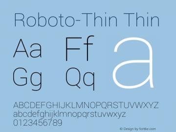 Roboto-Thin