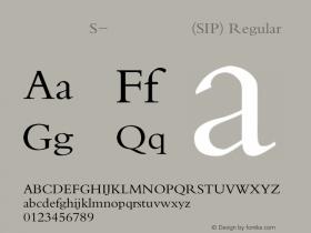 方正楷体S-超大字符集(SIP)