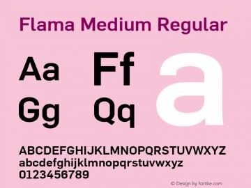 Flama Medium