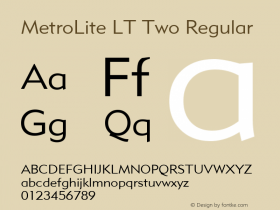 MetroLite LT Two