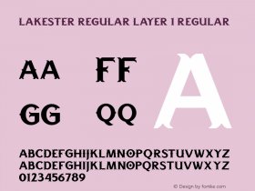 LAKESTER REGULAR LAYER 1