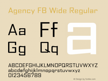 Agency FB Wide