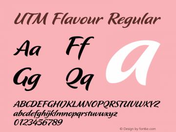 UTM Flavour