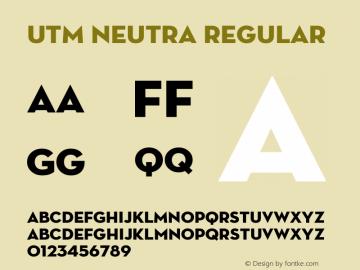 UTM Neutra
