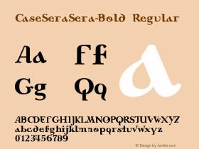 CaseSeraSera-Bold