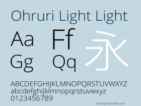 Ohruri Light