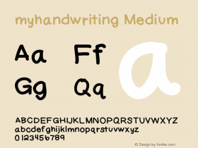myhandwriting
