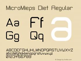 MicroMieps Diet
