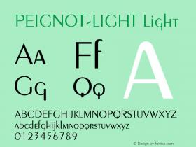 PEIGNOT-LIGHT