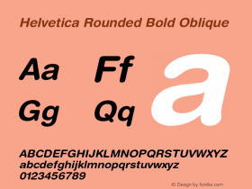 Helvetica Rounded