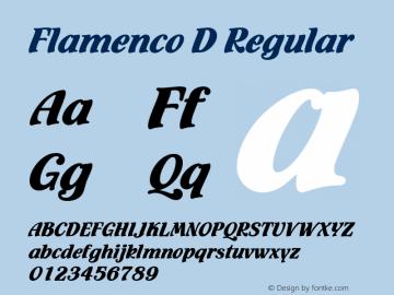 Flamenco D