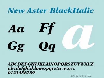 New Aster