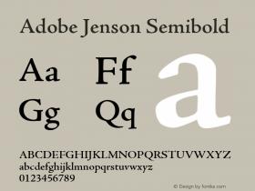 Adobe Jenson