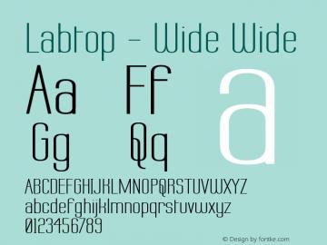 Labtop - Wide