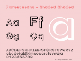 Florencesans - Shaded