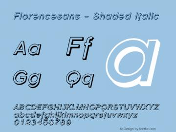 Florencesans - Shaded