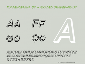 Florencesans SC - Shaded