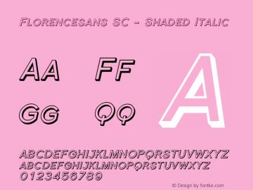 Florencesans SC - Shaded