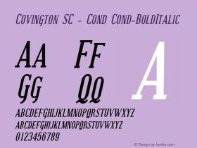 Covington SC - Cond