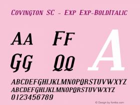 Covington SC - Exp