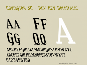 Covington SC - Rev