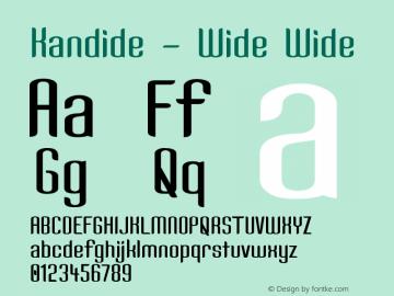 Kandide - Wide