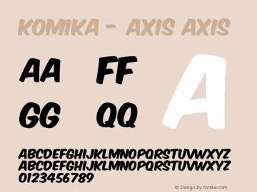 Komika - Axis