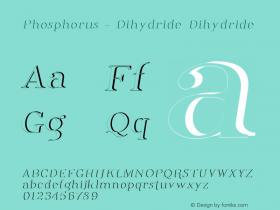 Phosphorus - Dihydride