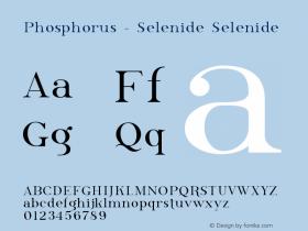 Phosphorus - Selenide