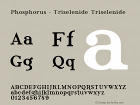 Phosphorus - Triselenide