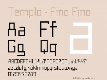 Templo - Fino