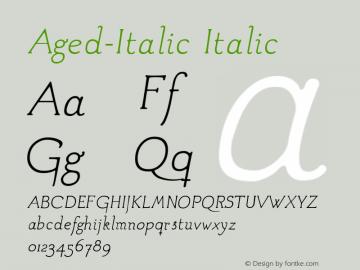 Aged-Italic