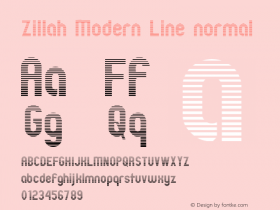 Zillah Modern Line