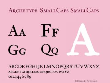Archetype-SmallCaps