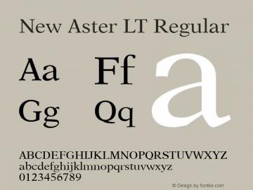 New Aster LT