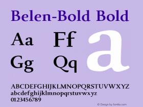 Belen-Bold
