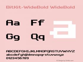 BitKit-WideBold