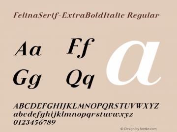 FelinaSerif-ExtraBoldItalic