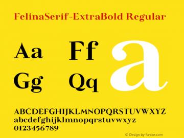 FelinaSerif-ExtraBold